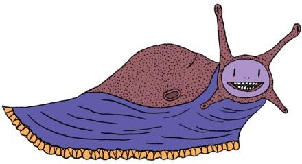 Toujours wet, toujours prêtes, les limaces sont des animaux sensuels et lubriques, et c'est possiblement ça qui écoeure un peu chez elles.